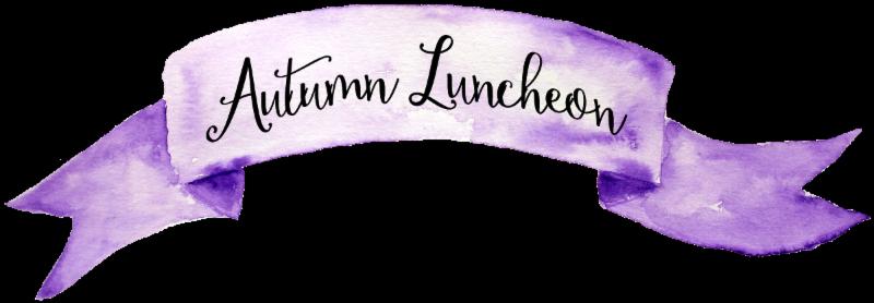 Autumn Luncheon header