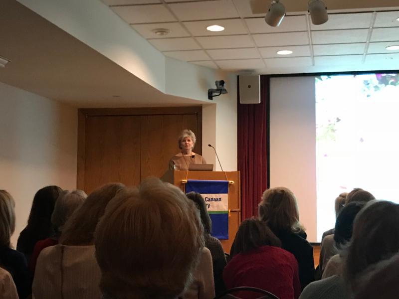 Charlotte Moss speaking