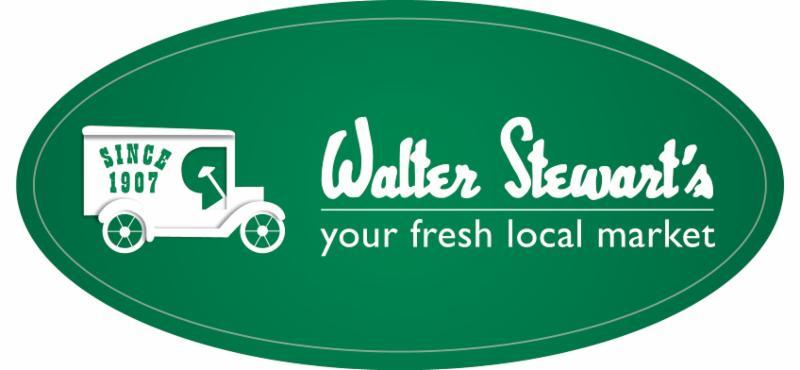 Walter Stewart's Logo oval