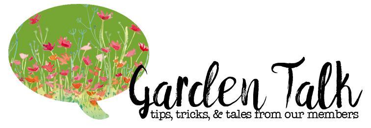 Garden Talk header