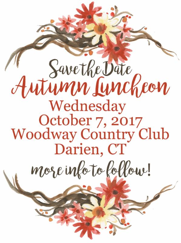 Save the Date Luncheon 2017