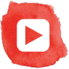 YouTube watercolor icon