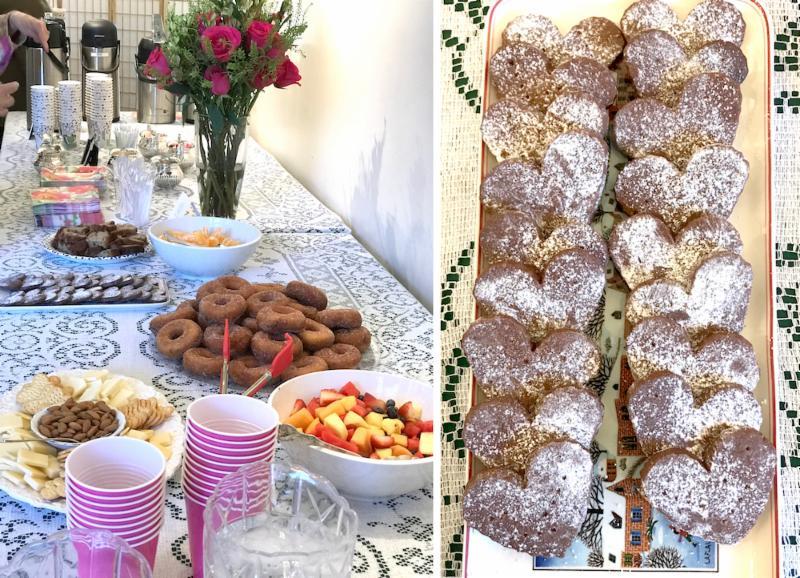 Hospitality and cookies February program