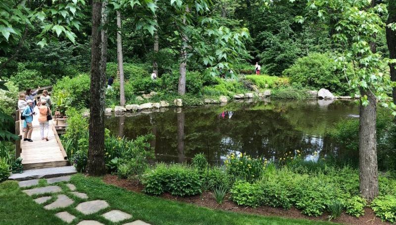 Gnuse garden wide view