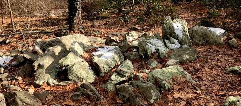 Lee Garden rocks