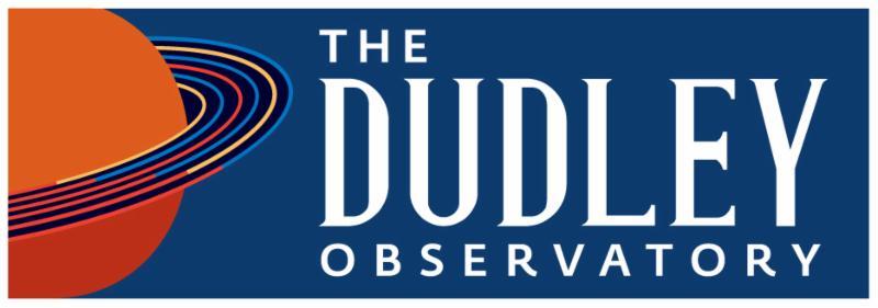 Dudley Observatory Logo Long