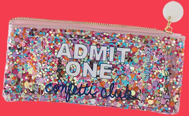 Confetti - Admit One