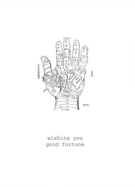 Wishing you good fortune card