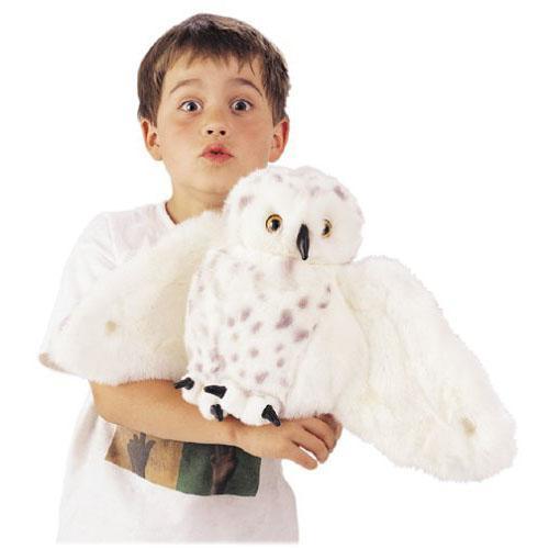 Folkmanis-Snowy Owl Puppet