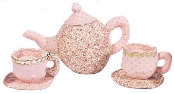 Fabric Teapot Set