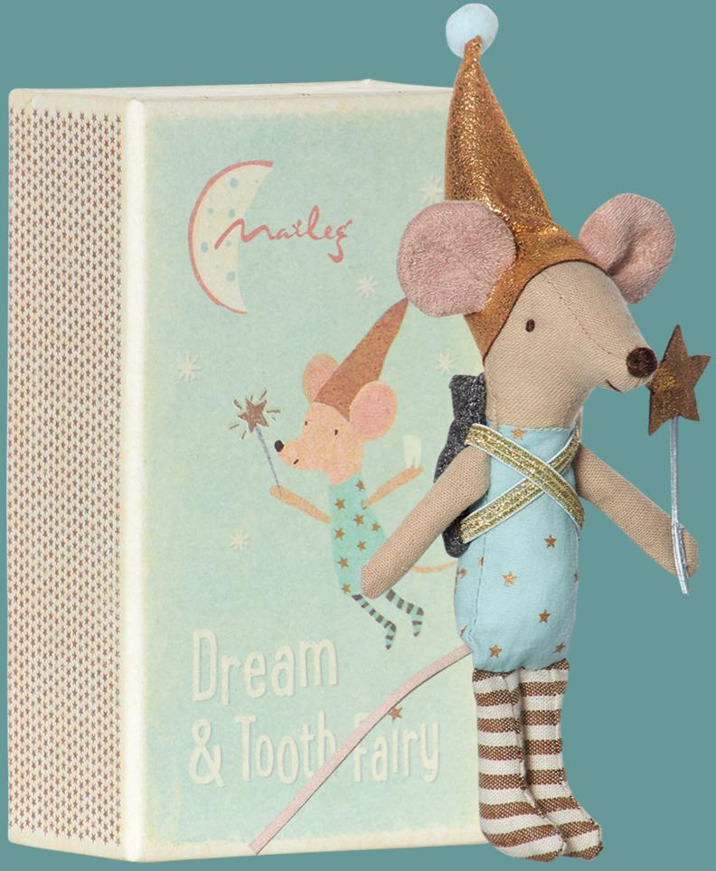 Maileg - Boy Mouse Tooth Fairy