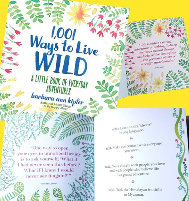 Book - 1_001 Ways to Live Wild