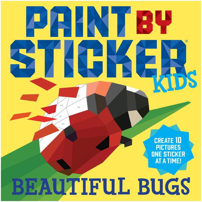 Paint by Sticker - Beautiful Bugs