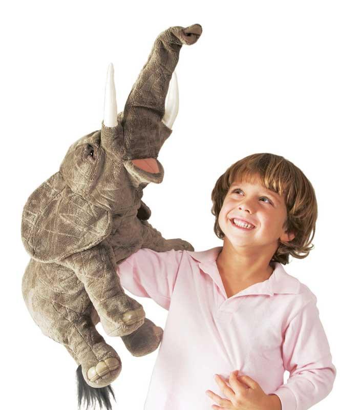Folkmanis - Elephant Puppet