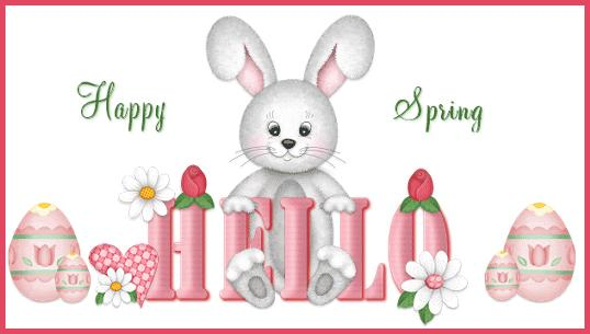 Happy Spring Hello