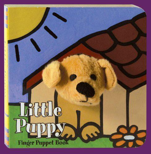 Little Puppy Puppet Book