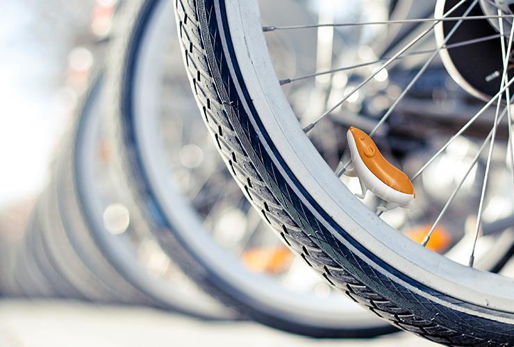 Speedy the Glittery Bike Accessory