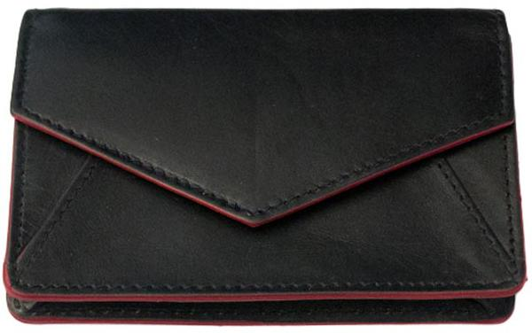 Black Envelope Card Wallet