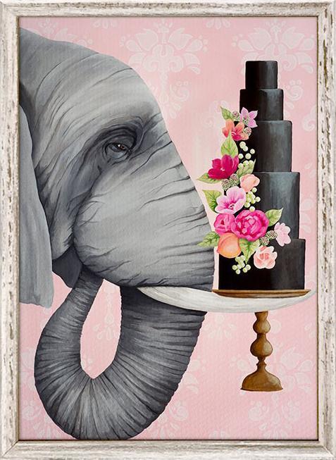 Elephant - 5x7