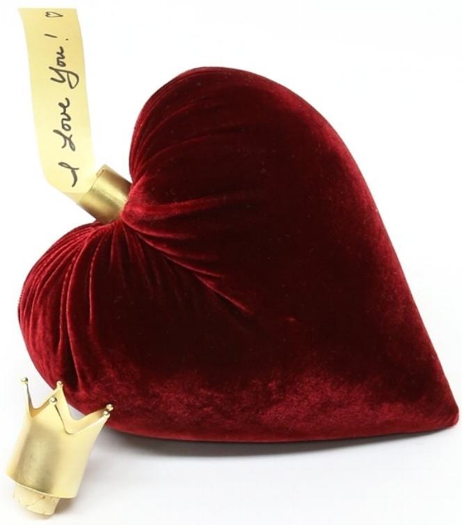 Hot Skwash Red Velvet Heart