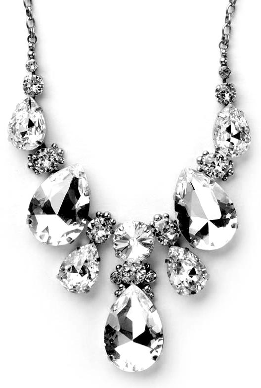 Sorrelli - Teardrop Triangle Bib Necklace