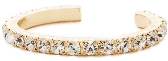 Enchanting Clear Crystal Cuff
