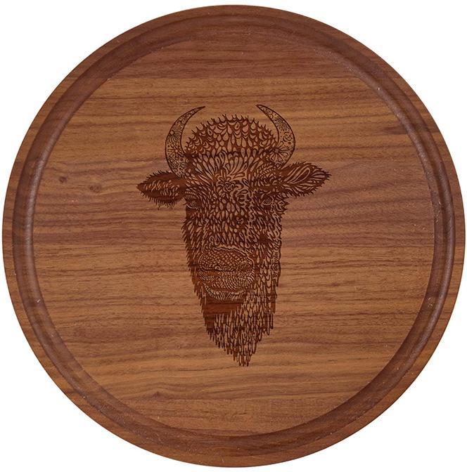 10.5 inch Walnut Cutting Board