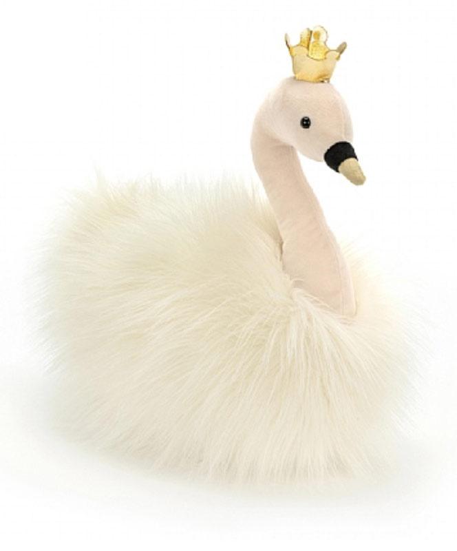 Fluffy Fancy Swan