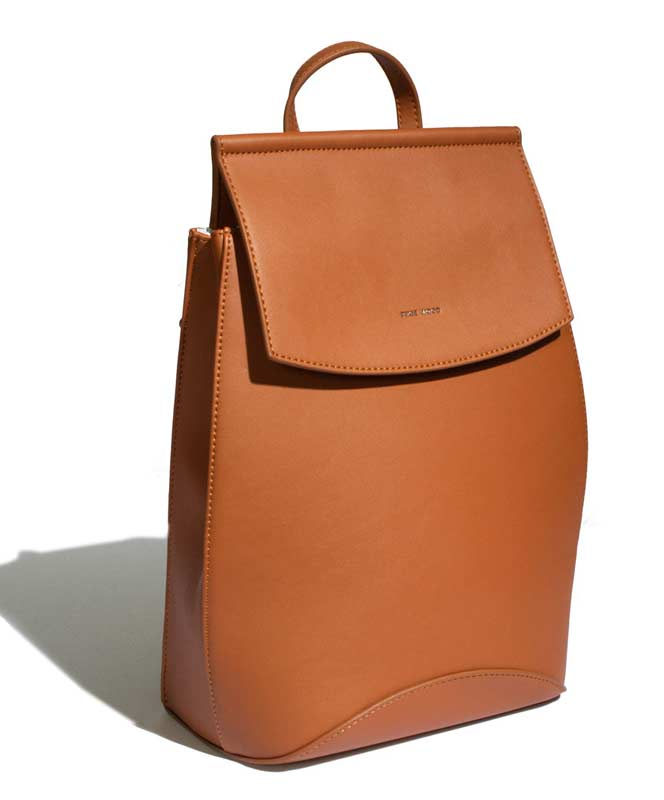 Cognac Kim Backpack or Shoulder Bag