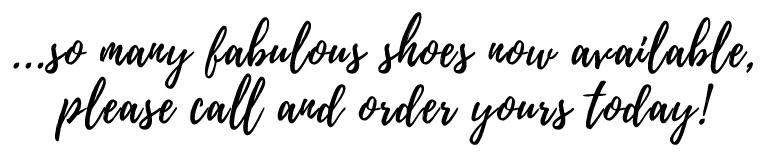 So many fabulous shoes