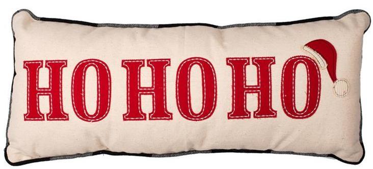 Ho Ho Ho Pillow