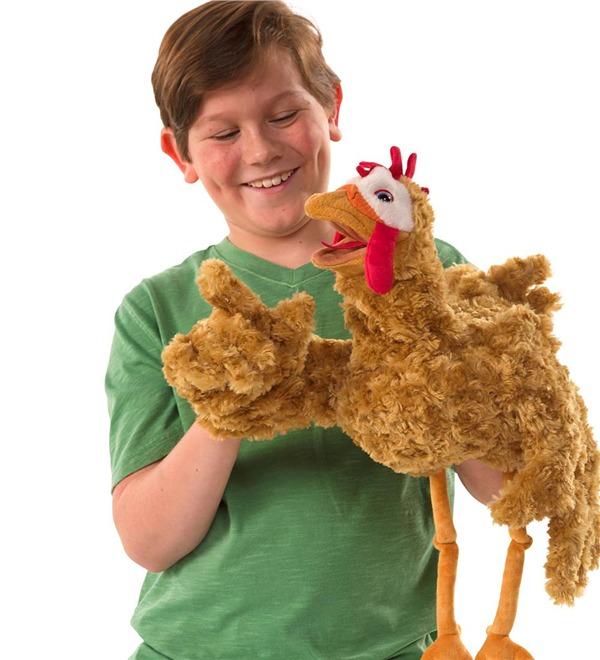 Folkmanis-Chicken Puppet