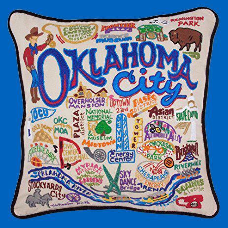 Oklahoma City Pillow