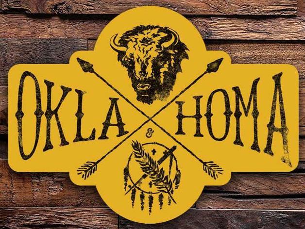 Oklahoma Heritage Sticker