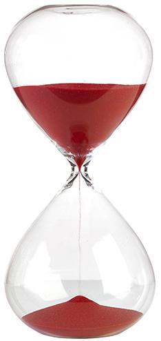 Red Sand Hourglass