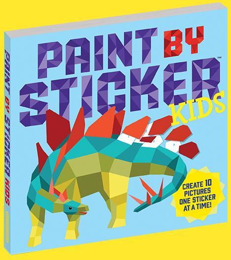 Book - Paint by Sticker Kids