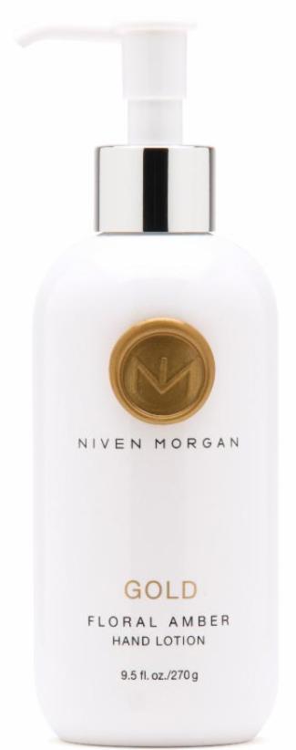 Niven Morgan Gold Hand Lotion with Pump
