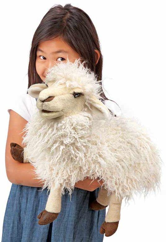 Folkmanis - Longwool Sheep Puppet