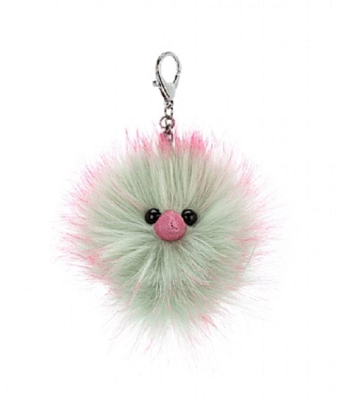 Mint Fizz Pom Keychain