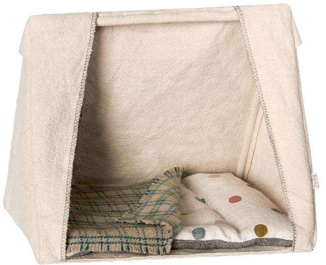 Maileg Mouse Tent with Mattress and Blanket