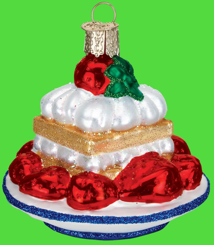 Old World Christmas Strawberry Shortcake