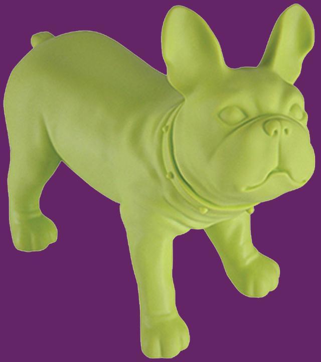 Green Bulldog Shelf
