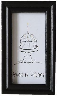 Delicious Wishes Mini Frame