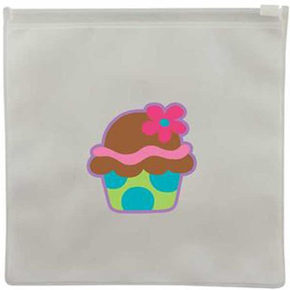 Cupcake Reusable Snack Bag