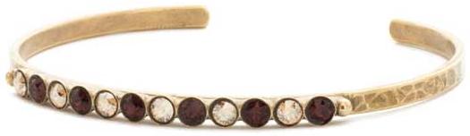 Dotted Line Cuff Bracelet