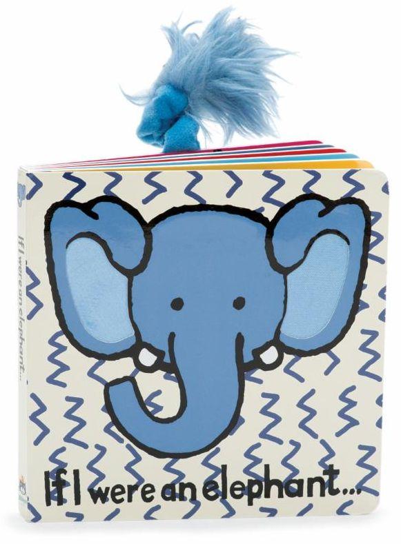 Jellycat If I Were an Elephant Board Book