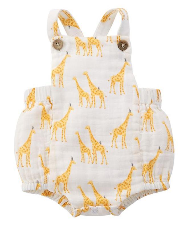 Giraffe Sunsuit
