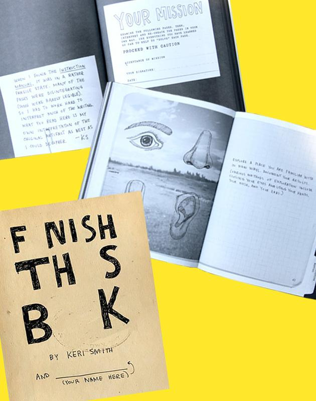 Book - Finish This Book