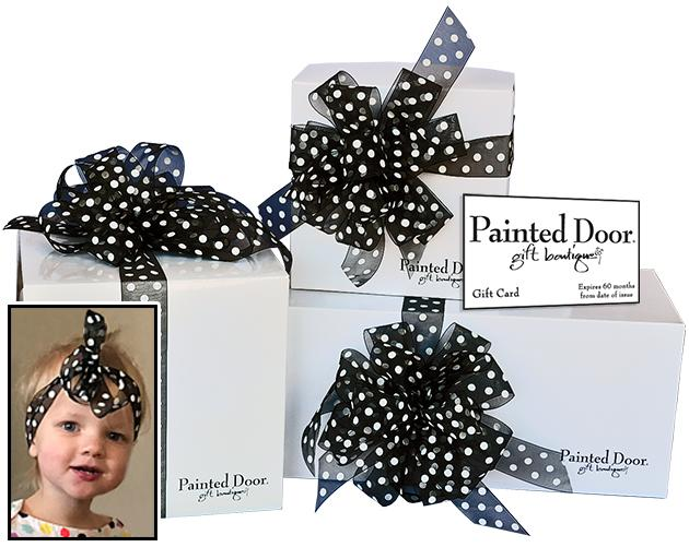 The Perfect Gift ~ Painted Door Gift Card