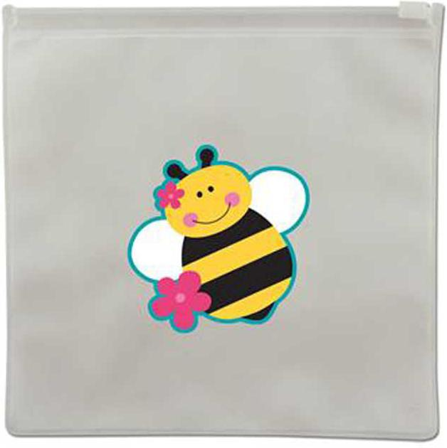 Reusable Snack Bags - Bee